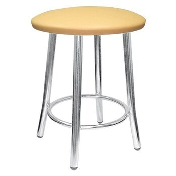 Табурет TEDDY chrome кожзам EV